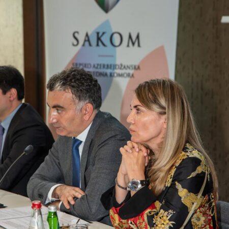 05 Predsednik SAKOM-a, gospodin Murat Turkoglu i potpredsednica gospođa Biserka Jevtimijević