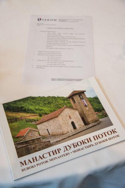 "SAKOM's Donation to Serbian Orthodox Monastery ""Duboki potok"""
