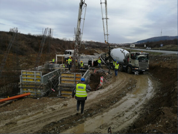 Photo from 12/02/2020 - Our first concrete